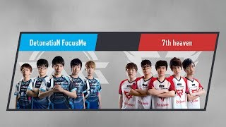 LJL 2017 Summer Split Round1 Match2 Game1 DFM vs 7h