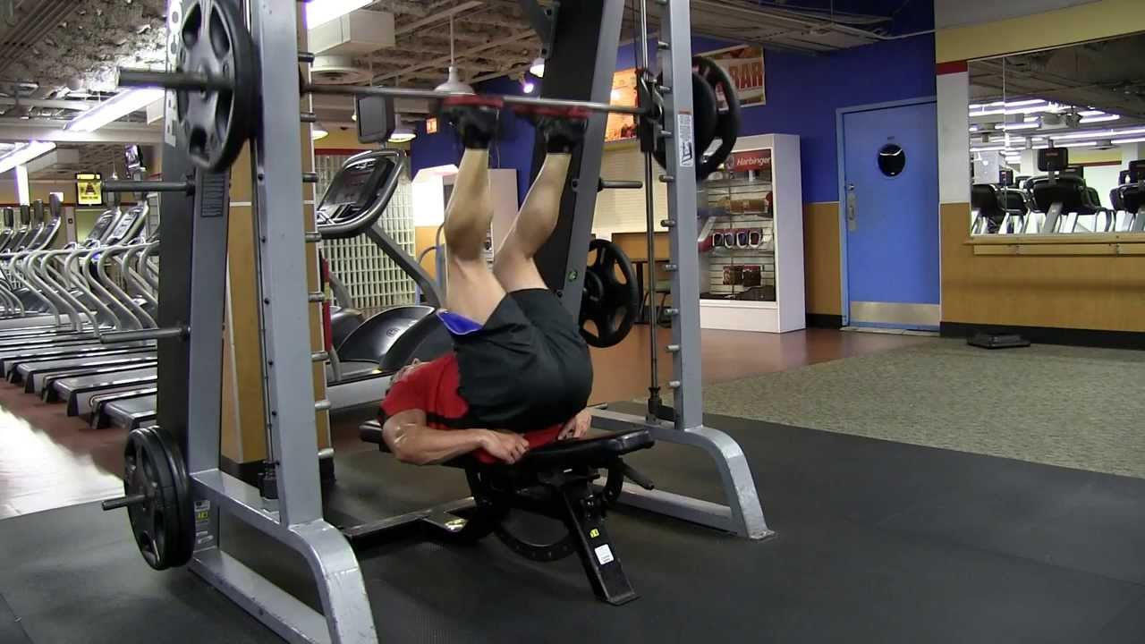 vertical bench press machine