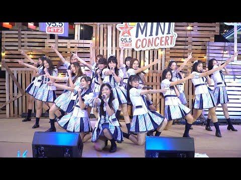 170915『4K』FANCAM BNK48 - Oogoe diamond (ก็ชอบ ให้รู้ว่าชอบ) @ ShowDC Mini concert 95.5 Virgin Hitz