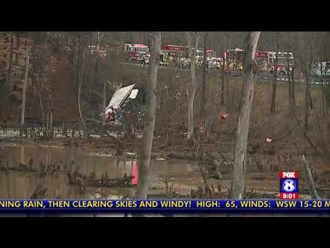 Tractor-trailer overturns in Guilford County