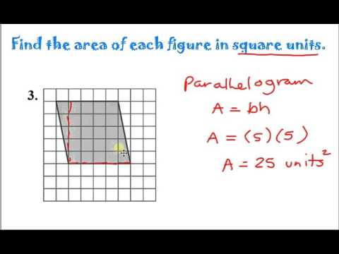 Area and Perimeter on the Coordinate Plane