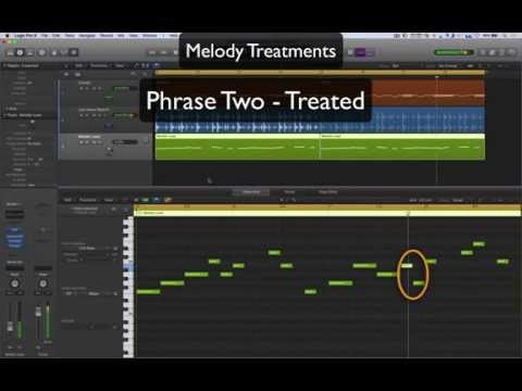 How to Write a Melody (Part 2) -  Breaking it Down + Melodic Treatments