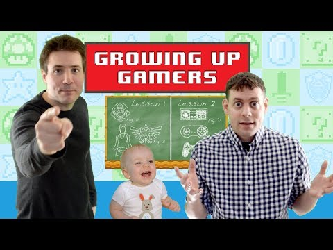 Growing Up Gamers - The Introduction