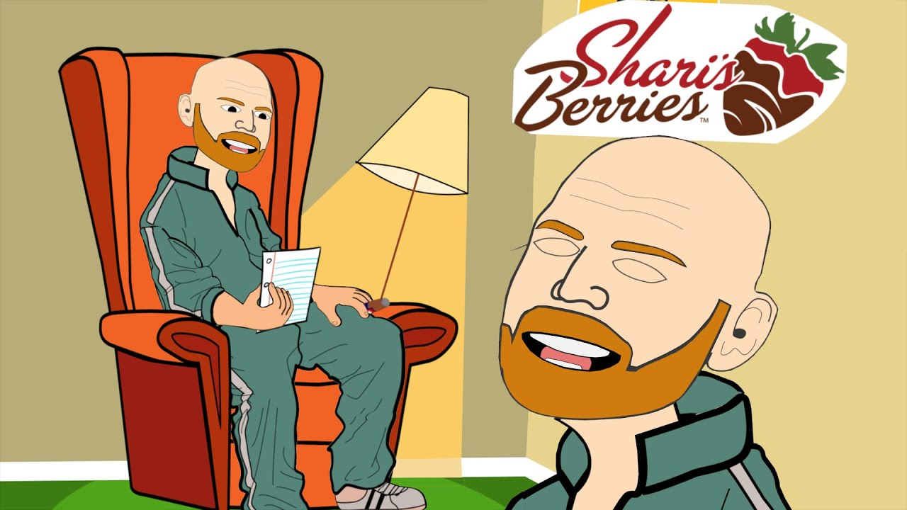 Bill burr doing the hilarious Shari's Berries ad read ...