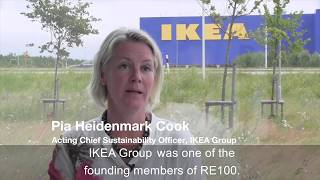 RE100 - Pia Heidenmark Cook, Acting Chief Sustainability Officer, IKEA Group