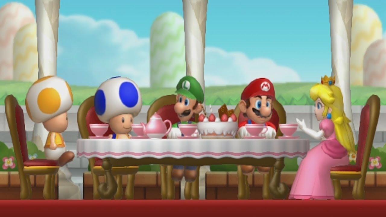 New Super Mario Bros U 100 Walkthrough Part 1 Acorn Plains