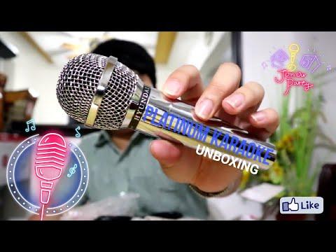 The Platinum Junior KS-05 DVD Karaoke Unboxing!