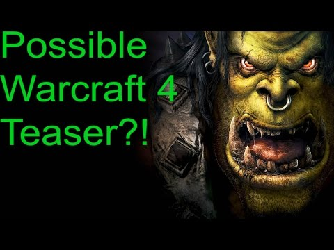 Blizzard hints at Warcraft 4?!