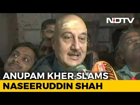 """How Much More Freedom Do You Want?"": Anupam Kher Slams Naseeruddin Shah"