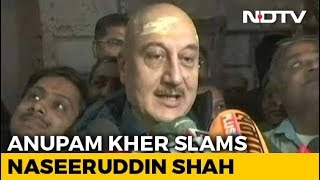 """How Much More Freedom Do You Want?"": Anupam Kher Slams Naseeruddin Shah thumbnail"