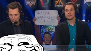 [SPOILER] MASSIVE DISRESPECT!! German fans trolling at EU LCS