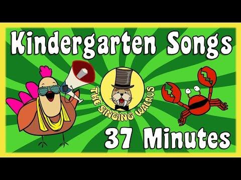 Kindergarten Songs | Kid Song Collection | The Singing Walrus