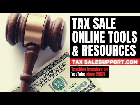 "Tax Sale Investing ""Available Tools & Strategies"" Tutorial Training - Tax Liens Deeds Foreclosures"