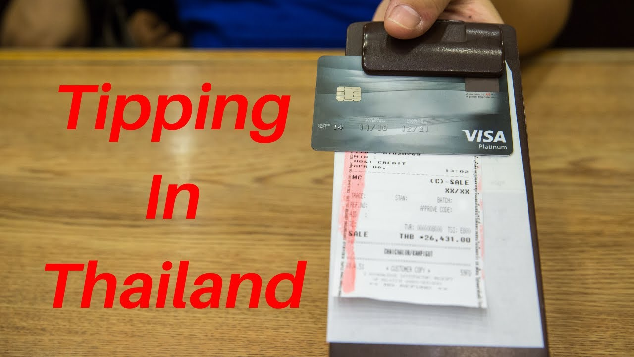 Tipping in Thailand. Should I Tip in Thailand?