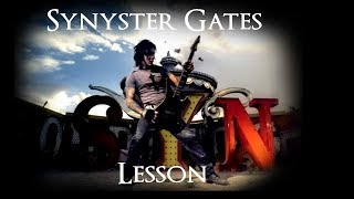 Gambar cover Synyster Gates - Harmonization (Guitar Lesson)