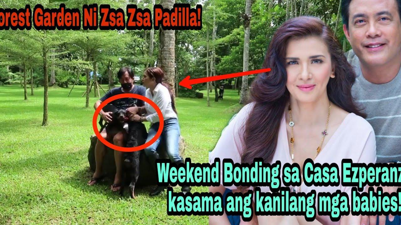 Wow! Zsa Zsa Padilla Ipinasilip Ang Kanilang Forest Garden Sa Casa Ezperanza! Napakalawak!