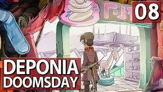 Deponia Doomsday #8 GADA im PORZELANLADEN ► Lets Play Deponia Doomsday deutsch