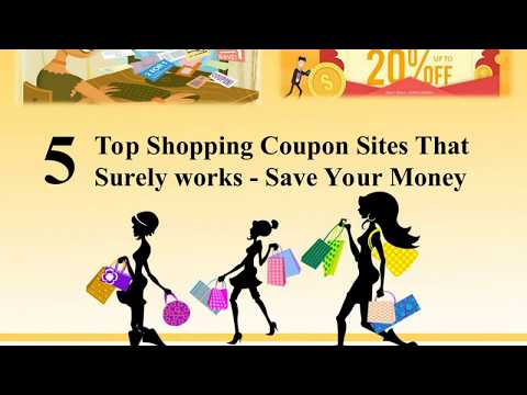 5 Top Shopping Coupon Sites That Surely works   Save Your Money 1