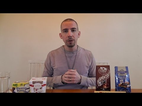 ASMR Whispered Chocolate and Candy Tasting / Review #1