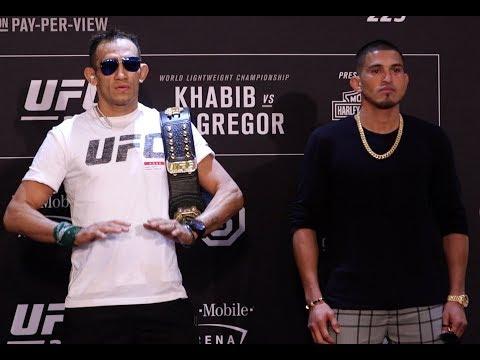 UFC 229 staredowns