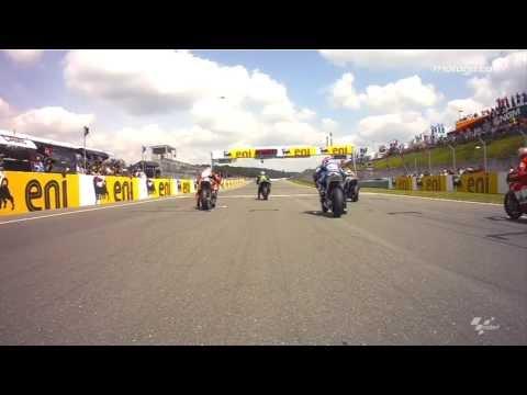 MotoGP™ Sachsenring 2013 -- OnBoard Start