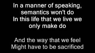 in a manner of speaking - nouvelle vague lyrics