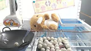 Toreba Japanese online crane game awesome ping pong machine win. Last ball flys into winning hole!!