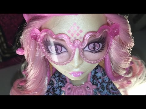 Monster High Doll Toy: Vaperine Gorgon Hauntlywood Photoshoot, 2014 DVD Mattel on Free Toys Channel