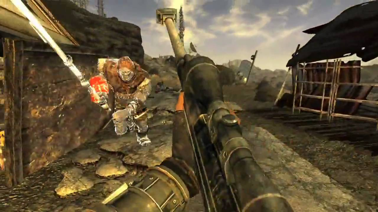 Fallout New Vegas Gameplay - Trailer HD - YouTube