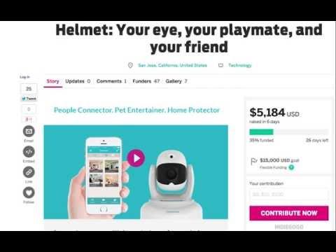 How to buy Helmet on Indiegogo