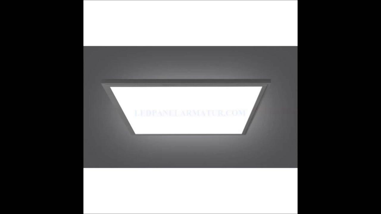 60x60 led panel armat r 40w tel 05326682064 youtube. Black Bedroom Furniture Sets. Home Design Ideas