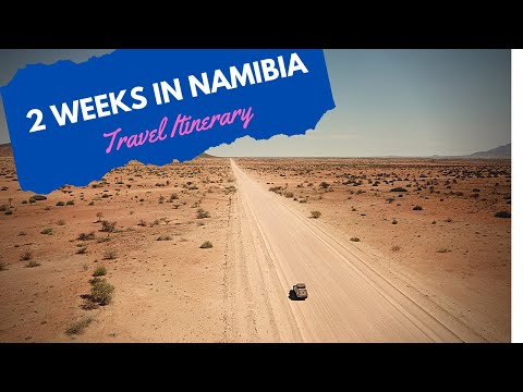 2 Weeks in Namibia - Travel Itinerary / Road Trip (Drone & GoPro)