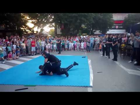 Local Serbian Police public demo