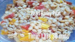 Pearl Barley Pilaf Recipe