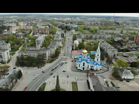 Квадрокоптер Mr FUCKER 4K осматривает город Малоярославец.