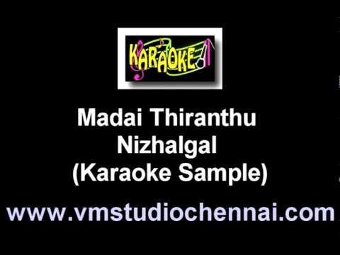 Madai Thiranthu - Nizhalgal (Karaoke) VM.mpg