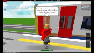 South West Trains ROBLOX