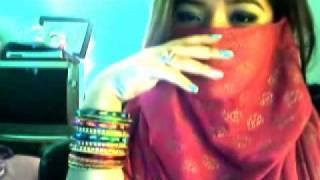 Asian Girl Singing Hindi Song Shukran Allah