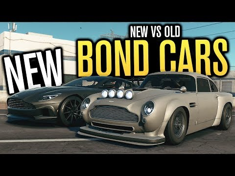 NEW Aston Martin DB5 vs DB11 | BOND CARS |...
