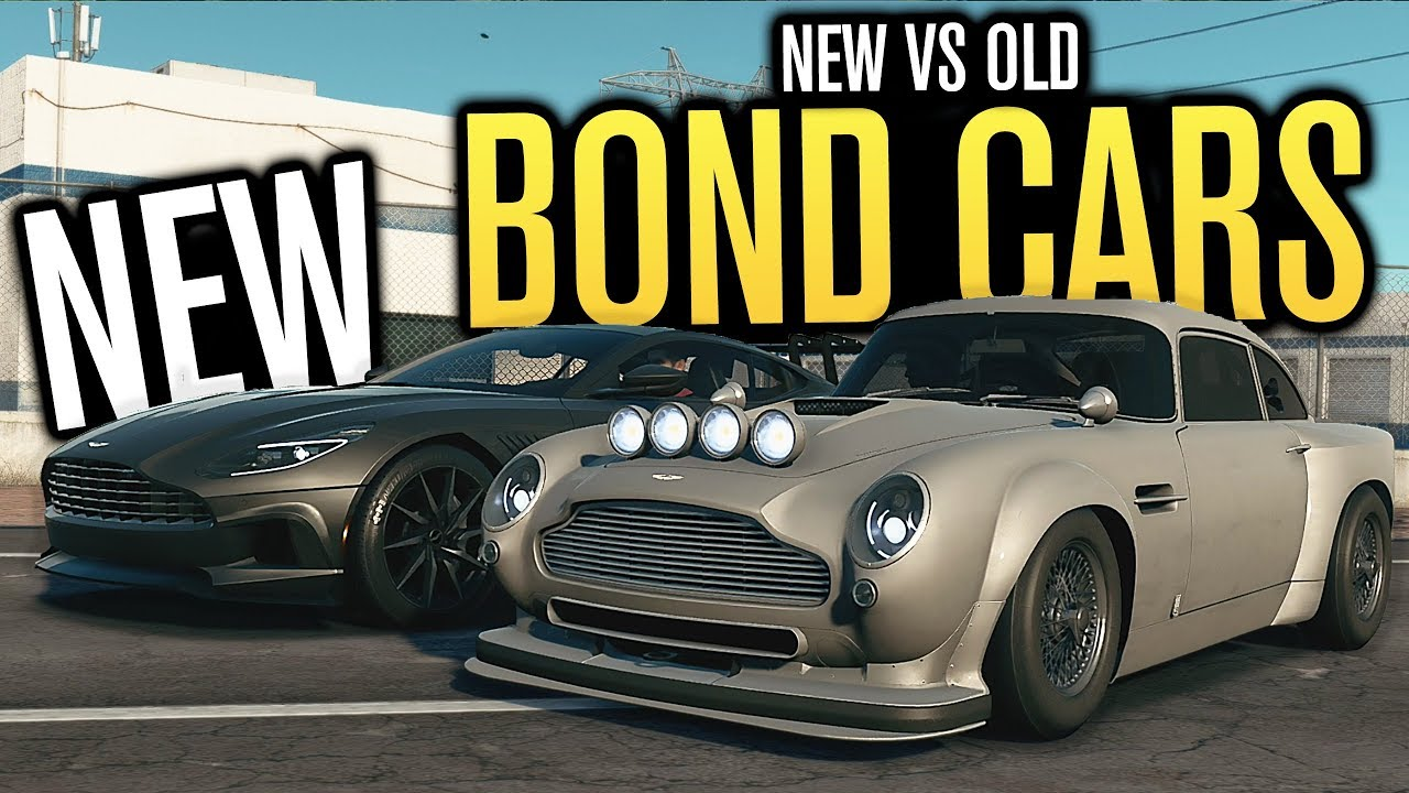 new aston martin db5 vs db11 | bond cars | need for speed payback
