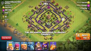 Best farming strategy clash of clans TH8/TH9, Fastest way to farm walls