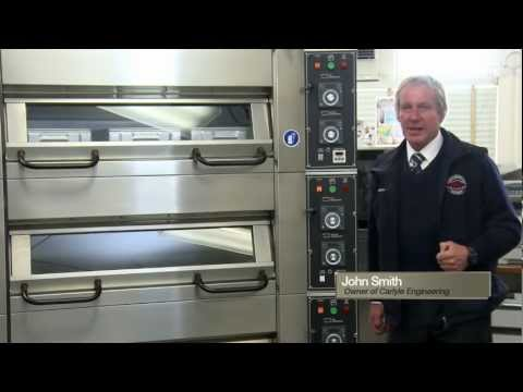 Electric Deck Oven for modern Bakeries   Carlyle Australia's Bakery Equipment Supplier