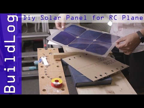 [BuildLog] Solar panel encapsulation for rc plane