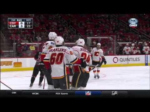 Flames @ Hurricanes Highlights 01/24/16