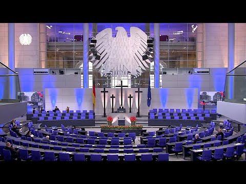 15.11.2020 - Prinz Charles & Steinmeier im Bundestag zum Volkstrauertag und zum Brexit (deutsch)