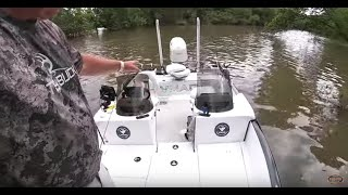 How I rigged my new VMAG Multi Species fishing boat.