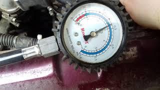 Как замерить давления в топливной рампе Ваз