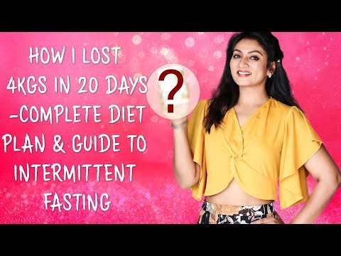 HOW I LOST 4KGS IN 20 DAYS-COMPLETE DIET PLAN AND GUIDE TO INTERMITTENT FASTING || Ashtrixx