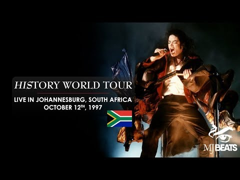 "Michael Jackson's ""HIStory World Tour"" live in Johannesburg, South Africa [Full]"