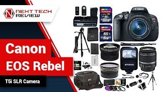Canon EOS Rebel T5i SLR Camera Product Review  – NTR
